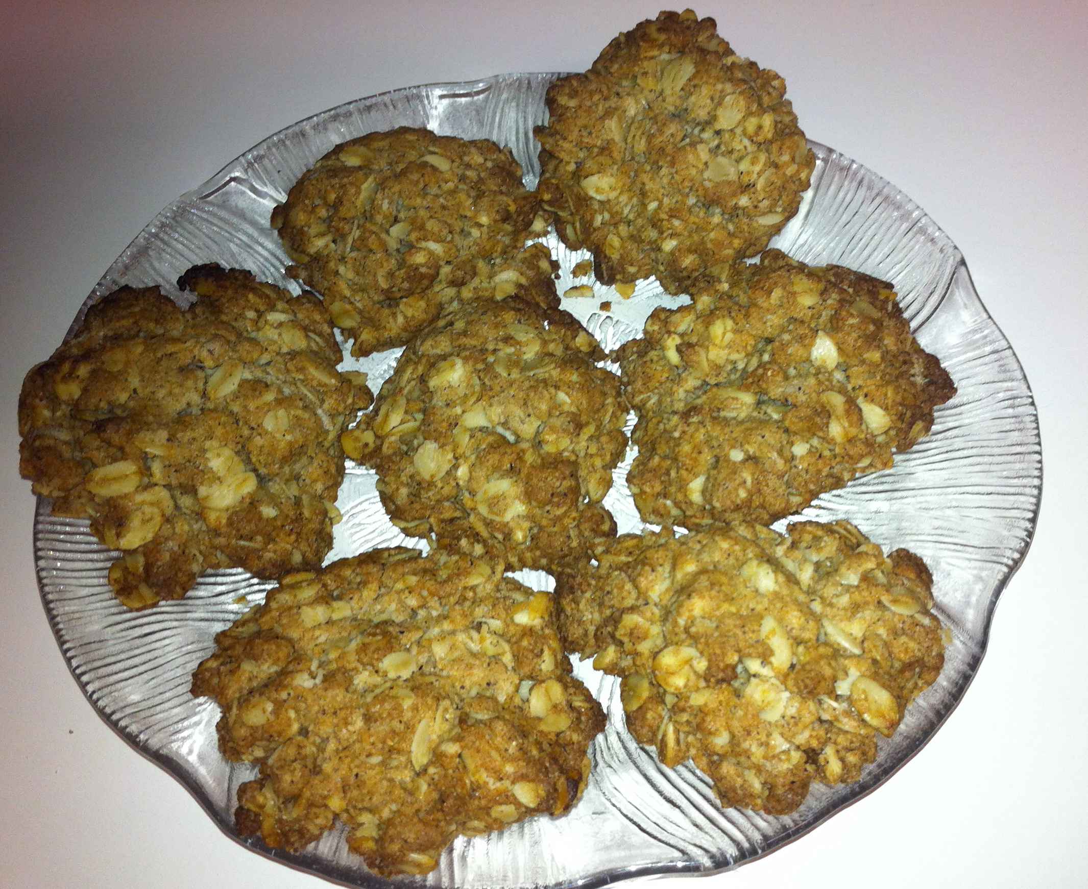 Rolled Oat Biscuits